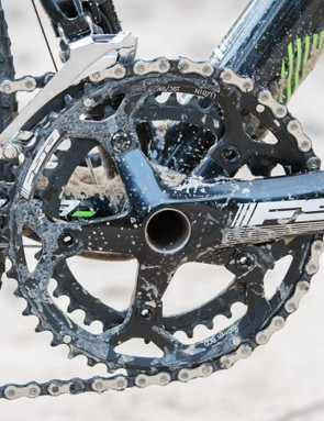 The FSA Gossamer crank does everything it needs to without fuss