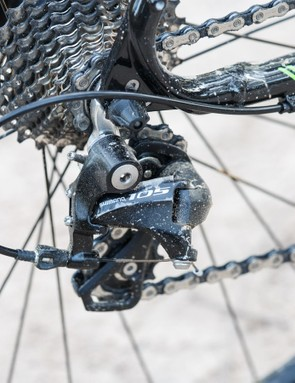 It's hard to fault Shimano's 11-speed 105 shifting