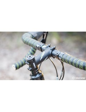 Made by ControlTech, the alloy stem is a nice item