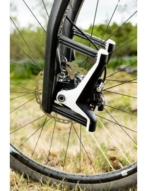 Different leaf springs can be used depending on rider weight