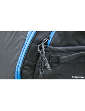 Reinforced zippers and large pulls are easy to use