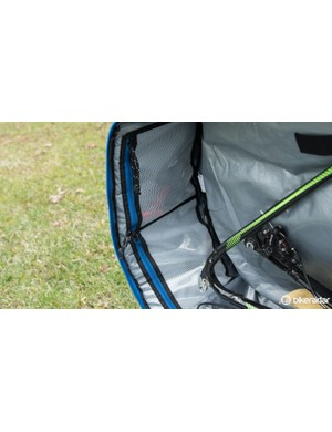 Small zippered pockets are there to keep small items safe and secure