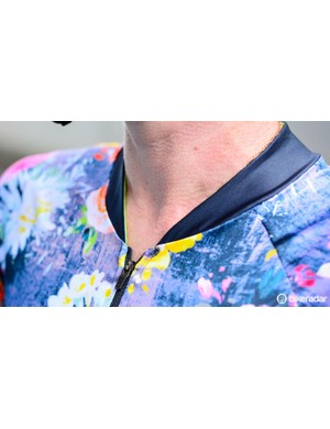 The neck has a stylish, racer cut, but be careful to apply extra sunscreen if you burn easily