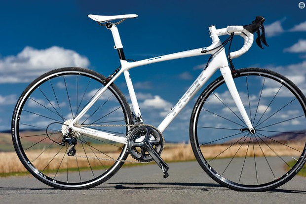 The Trek Emonda SLR 6's absence of any aerodynamic features makes this a bike for those who value low weight over everything else