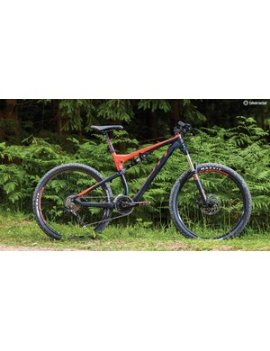 The 750 is the cheapest of Scott's 650b wheeled Genius trail bikes