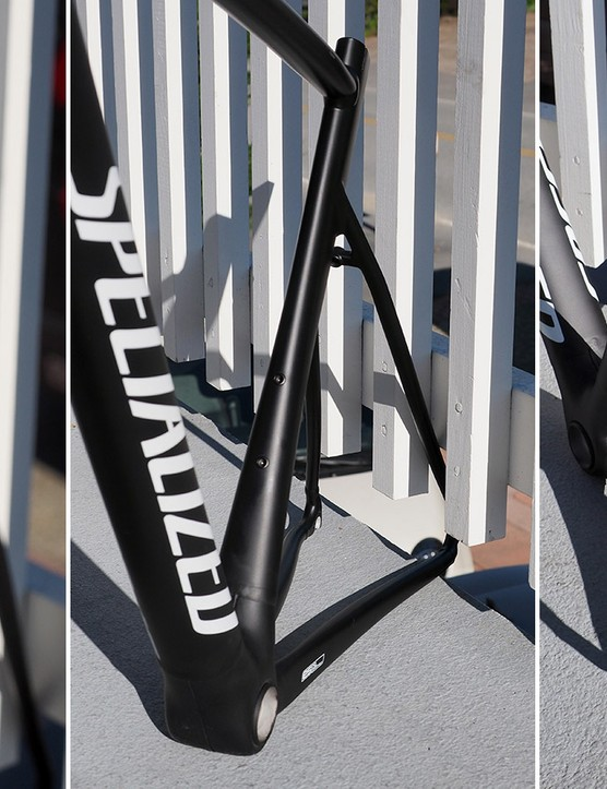 If you ignore the weld beads, you could easily mistake the new Specialized Allez Sprint for a Tarmac