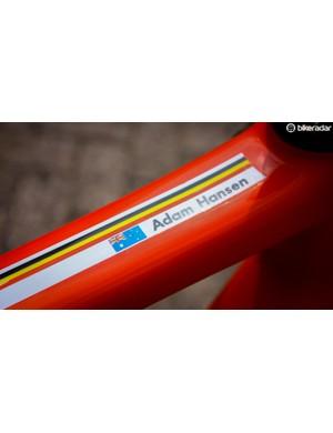 Hansen's bike, hands off