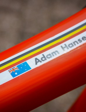 Hansen's bike, hands off