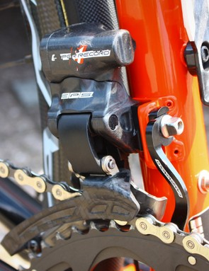 Hansen's EPS derailleur has taken a fair amount of use