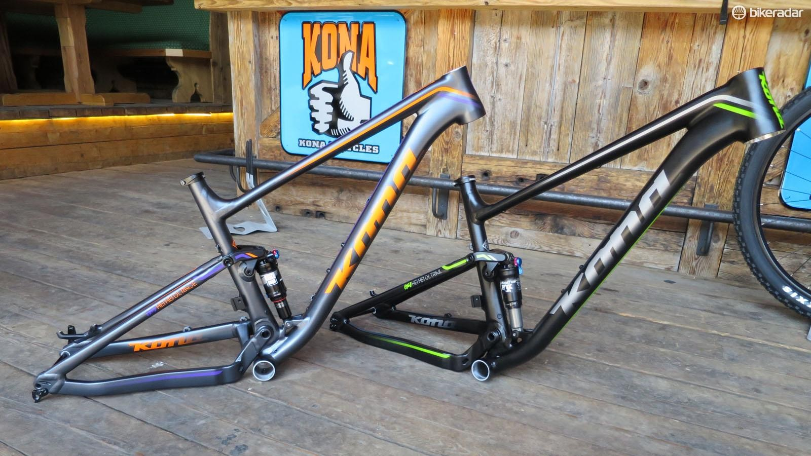 Kona's new Hei Hei frames