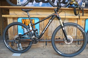 Trail riders aren't forgotten though - the Hei Hei Trail has the same frame but an extra 20mm up front, with a 120mm fork