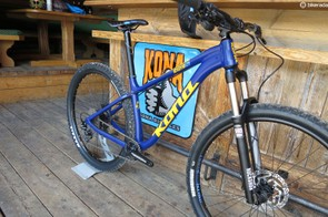 Kona has dropped steel from the Honzo full-bike builds, which are now lighter, with alloy frames