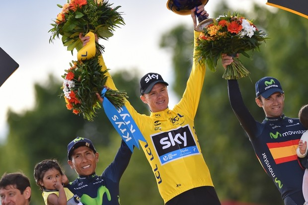Chris Froome secures his second win in the Tour de France