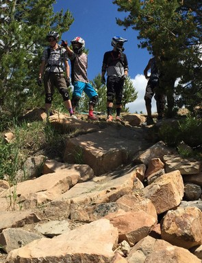 Do you find yourself perpetually challenged by the same type of feature on your usual trail rides? Riding in a bike park gives you the opportunity to easily ride the same section over and over without the stress of having to ride back up again