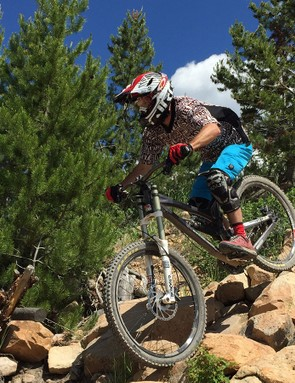 Sessioning a section of trail can be incredibly useful in dialling in your skills