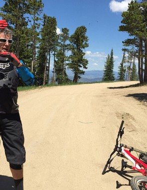 Bob Barnes is the head instructor at Trestle Bike Park in Winter Park, Colorado. A good teacher can not only show you how it's done but also explain in very clear terms what you need to do - without putting yourself at undue risk