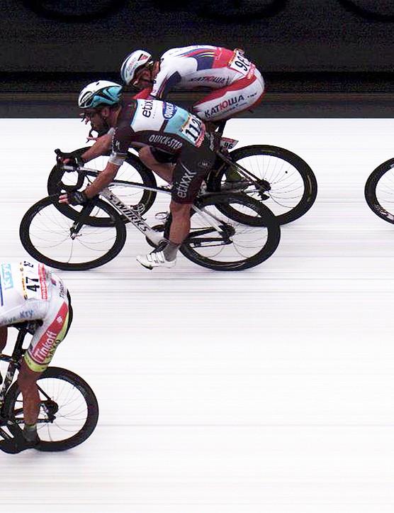 Despite that speed, Degenkolb didn't factor on the podium