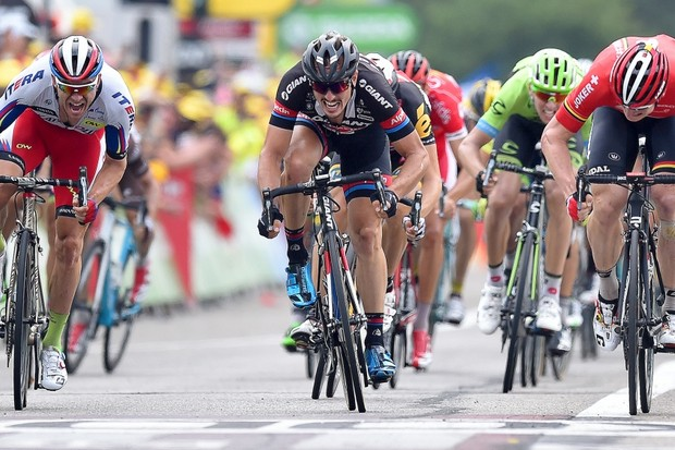 John Degenkolb was the fastest sprinter, clocking 78.48 km/h (48.77 mph) on Stage 5