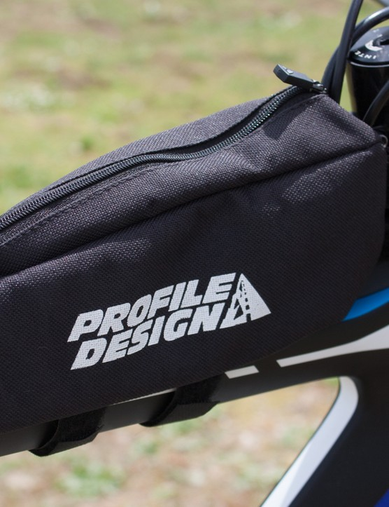Profile's massive Energy Pack bag holds plenty of food for long-course racing