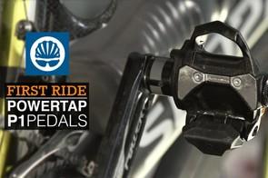 Powertap P1 pedals First Ride Video