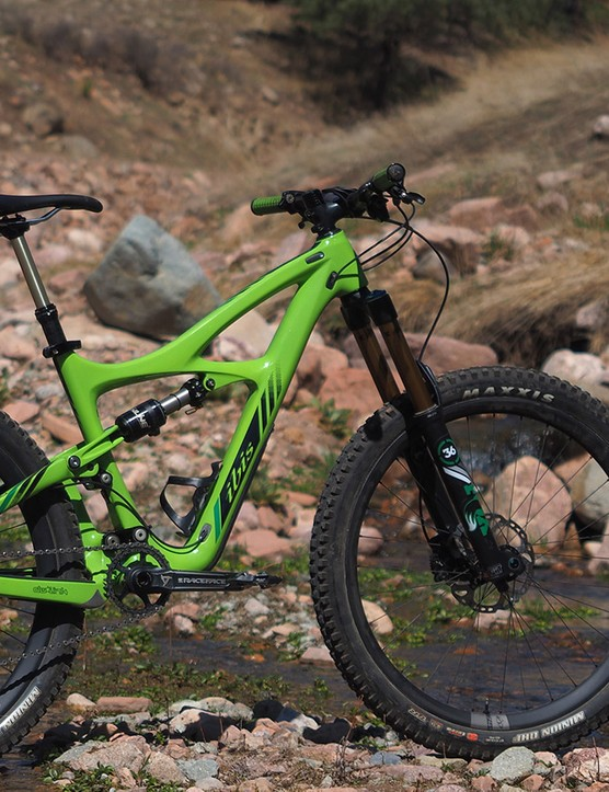 The previous Ibis Mojo HD was overdue for an overhaul but this latest Mojo HD3 has been well worth the wait. It's a remarkably efficient bike to pedal but yet an absolute bruiser when the trail points downward. It's no wonder that Ibis is heavily backordered on these
