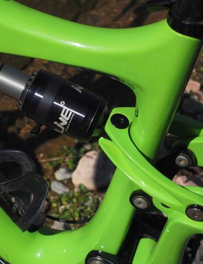 Clevis-driven rear shocks are becoming increasingly popular these days since they allow for more overall frame stiffness while still insulating the shock from side loading