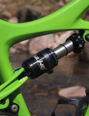 I'd strongly recommend upgrading to the Cane Creek Dbinline rear shock. The immense range of adjustment can be daunting but if you take the time to get it right, it delivers an incredibly composed ride