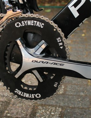 Froome's O.Symetric rings allegedly provide a more efficient delivery of pedal power