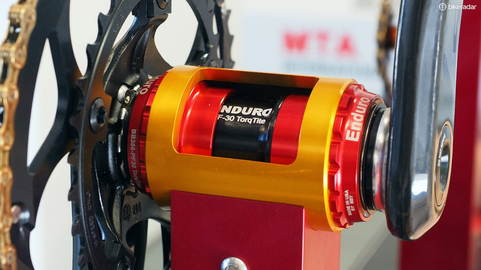 Wheels Manufacturing Inc PF30 Threaded Angular Contact Bicycle Bottom Bracket