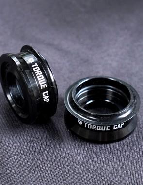 The RockShox Torque Tube end caps bolster stiffness
