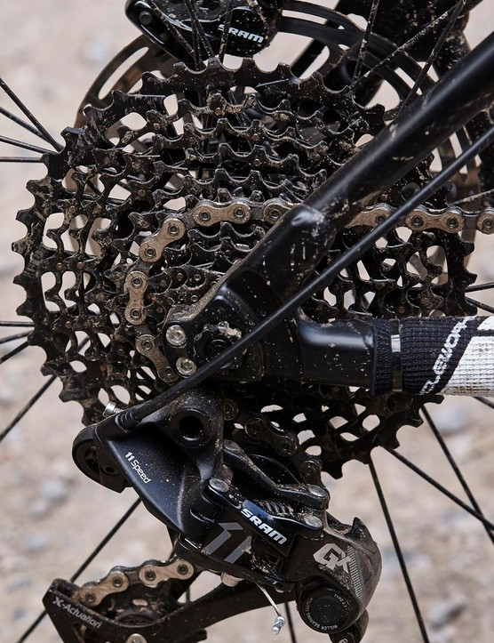 …delivering a light and simple 1x11 drivetrain at a great price
