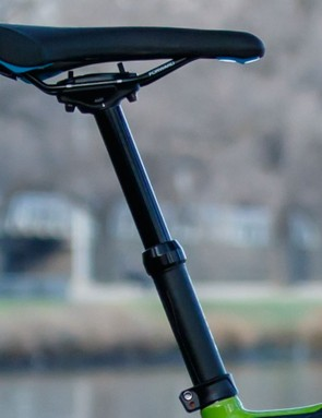 Giant has updated its dropper post with a new twin-bolt Contact SL Switch model