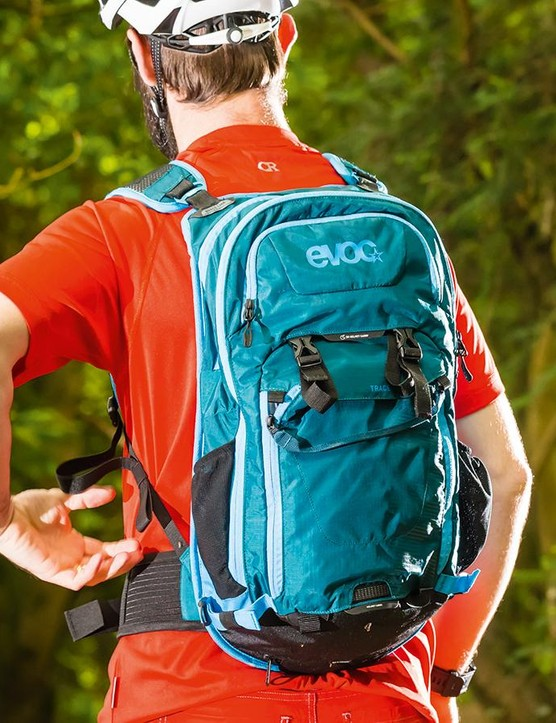 Evoc's Trace 18l backpack is capacious and well-thought out