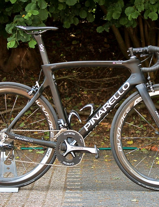 This was Froome's Dogma at the start of the Tour