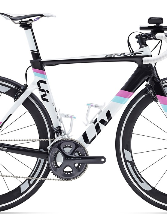 For those looking to do triathlons, there's the Envie Advanced Tri 1 ($3,400 / AU$3,799 / £TBC)