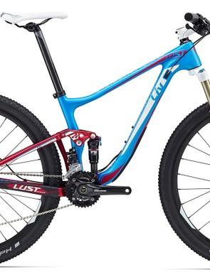 At $TBC / AU$3,499 / £TBC, the Liv Lust Advanced 2 is the entry into the carbon dual suspension range