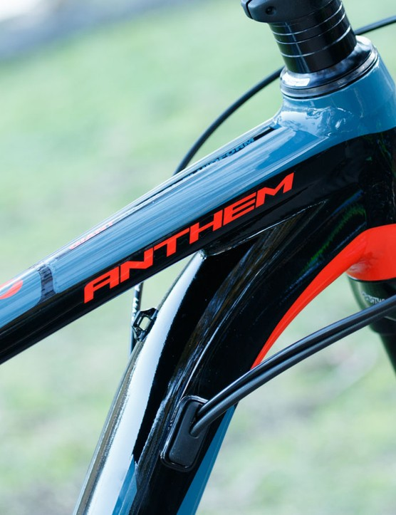 The frames on the Anthem SX models are identical to the standard Anthems - it's the components that make the difference