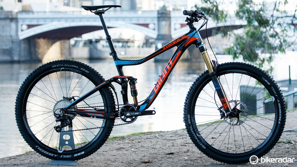 342a2a3b756 Bold hues from Giant for 2016. Pictured is the Trance Advanced 27.5 1  ($5,000