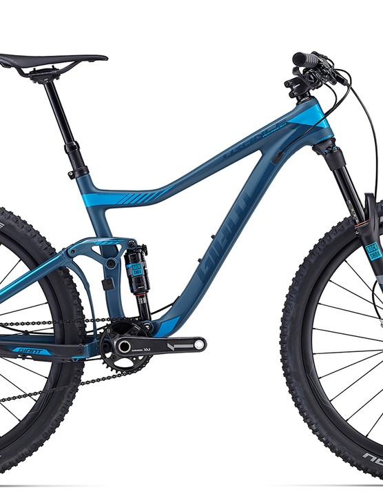 The Trance Advanced 27.5 0 sits at the top of the range ($7,700 / AU$7,499 / £TBC)