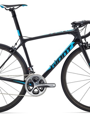 The new TCR Advanced SL 0 is also made with Giant's highest grade carbon, and features an integrated seatpost and hollow carbon dropouts ($9,000 / £TBC / AU$8,499). This is basically what Team Giant-Alpecin ride