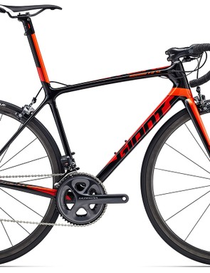 Still made from Giant's best carbon, the TCR Advanced SL 1 features an Ultegra Di2 drivetrain and retails for $5,900 / £TBC / AU$6,499