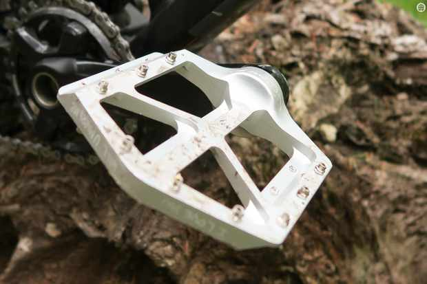 On-One Park Hill Flats pedals are let down by their lack of a concave surface