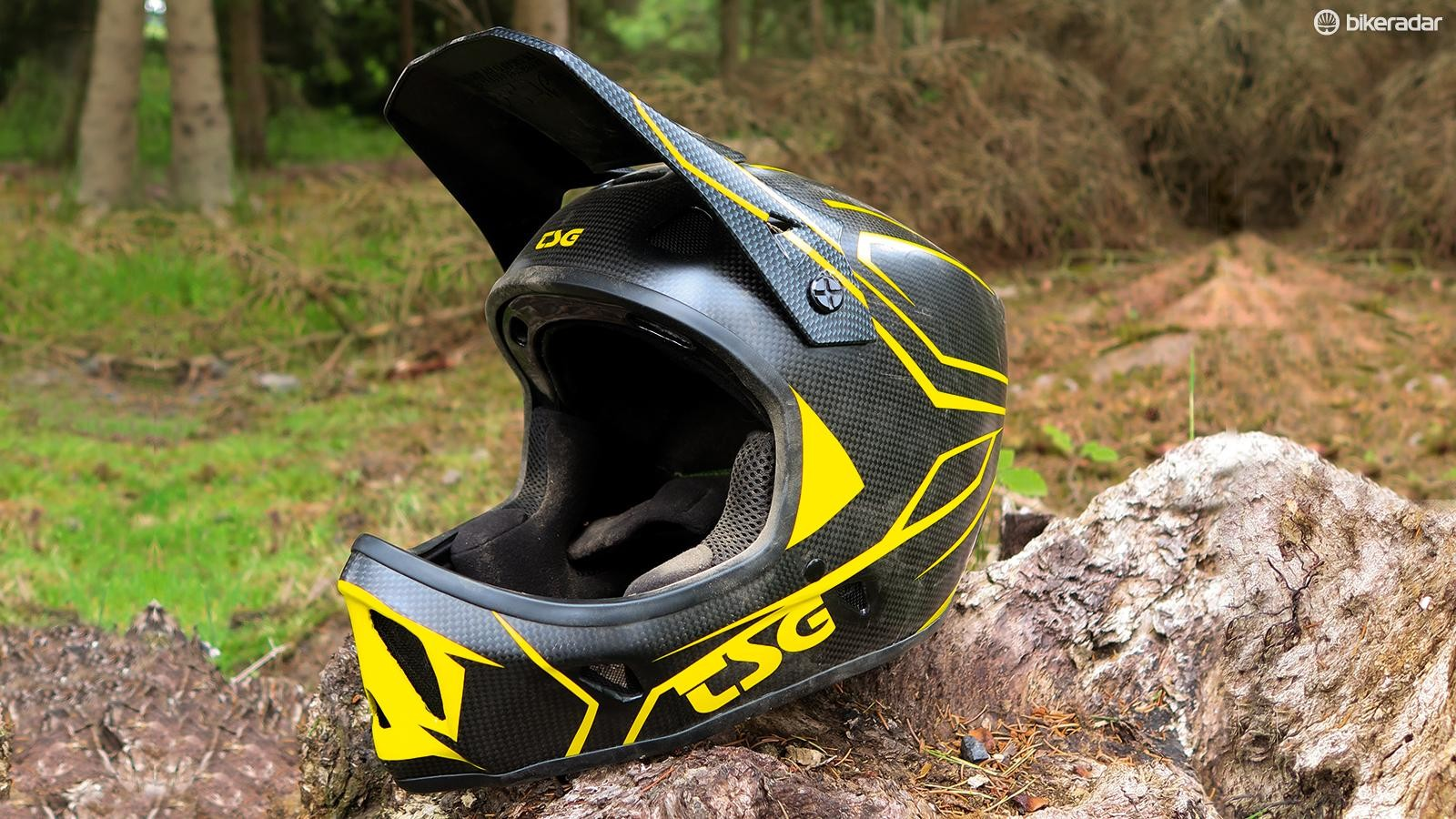 TSG Advance Carbon full-face helmet