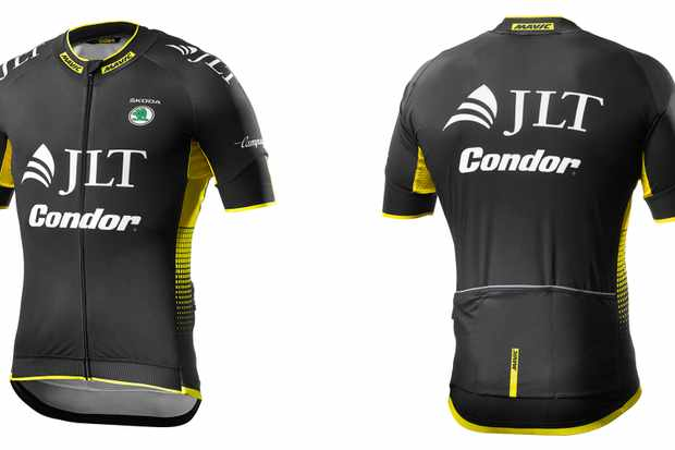 The new JLT-Condor kit is the first with Mavic's new logo