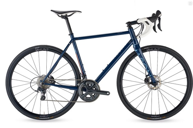 Mason Resolution Ultegra Hydro is a suave-looking and impressive steel ride