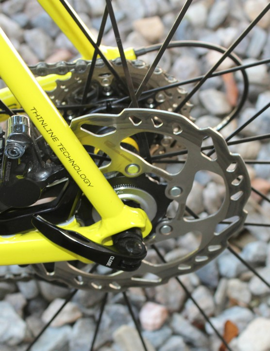 Cannondale opts for 160mm rotors