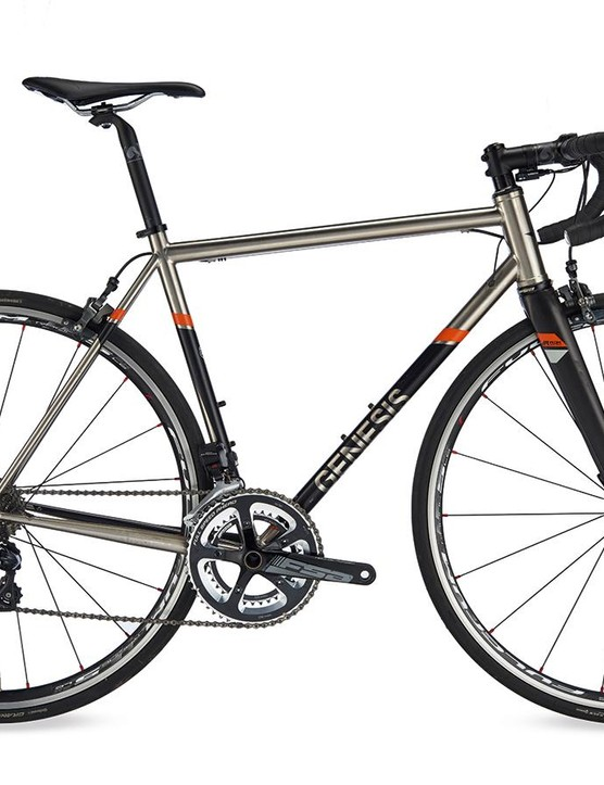 The Genesis Volare Stainless is pretty good value for a Di2-equipped stainless steel steed