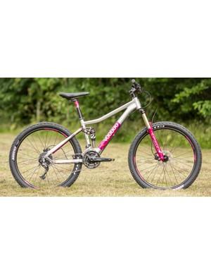 The VooDoo Maji full-suspension women's specific mountain bike