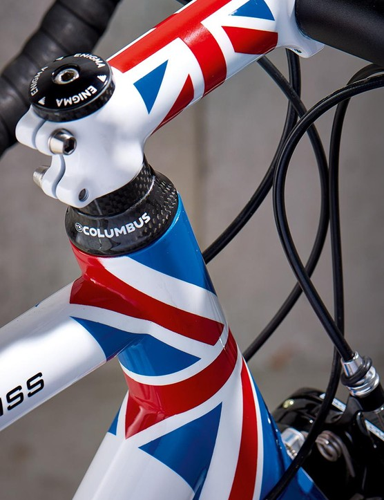 For an extra £299 you can be patriotic with Union Jack touches