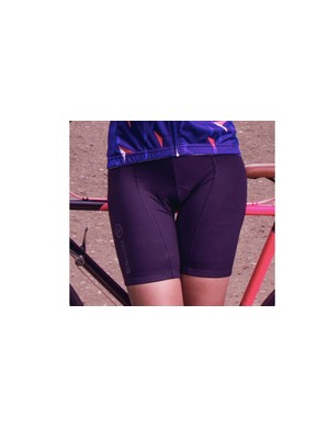The feather shorts are an alternative to the Iris bib shorts in the new Milltag women's cycling clothing collection